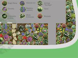 Small Picture Perennial Flower Garden Design Plans Markcastroco