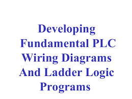 wiring diagrams and ladder logic programmable logic controllers 2 developing fundamental plc wiring diagrams