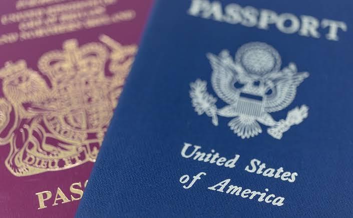 Philippine and US passports