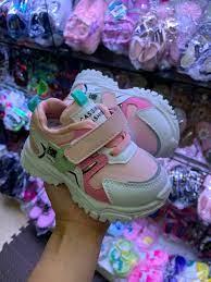 Giày thể thao cho bé gái 1 - 5 tuổi đế mềm quai dán thời trang phong cách  Hàn Quốc GE84 [ĐƯỢC KIỂM HÀNG] - 37206070 | Giày thể thao bé gái