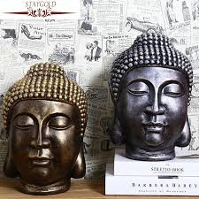 Buddha Head Decor Popular Resin Buddha Head Buy Cheap Resin Buddha Head Lots From