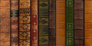 free leather book spines texture