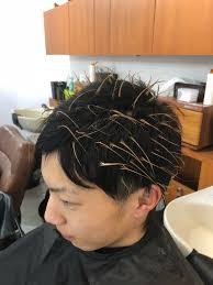 現役美容師がヘアカラー用メッシュキャップを使ってみた Tatsuya