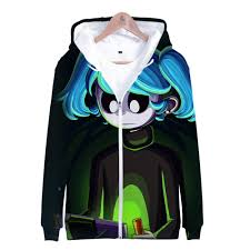 2019 <b>3D Sally Face</b> Frdun Harajuku <b>Zipper</b> Hoodie Sweatshirt ...