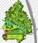 Mandai Executive Golf Course Sembawang Tee - Layout Transparent PNG