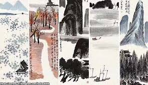 most expensive chinese painting qi baishi ink brush artwork s for record 144m