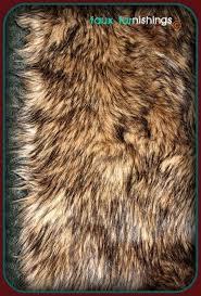 wolf skin rug faux fur coyote wolf skin plush faux animal by faux animal skin rugs