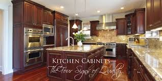 Quality Of Kitchen Cabinets Kitchen Cabinets The Four Signs Of Quality Vivareston