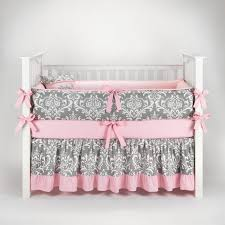 bedding cribs luxury satin oval blanket lambs and ivy furniture interior home design pink gray crib