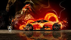 ferrari fire horse car