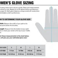 Women S Glove Size Chart Images Gloves And Descriptions