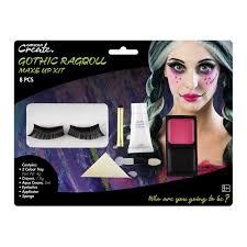 las gothic rag doll makeup kit