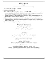 Resume Examples For Military 91 Images Example Resume Sample