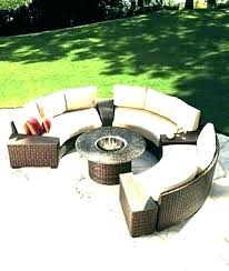 circular outdoor seating indoor couch cushions round half circle doubtful stylish circular outdoor seating