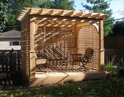 Full Size of Pergola Design:wonderful Pergola Lattice Grange Softwood Corner  Arbour Departments Diy At ...