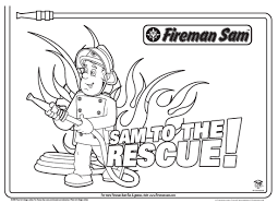 Small Picture Fireman Sam Coloring Pages GetColoringPagescom