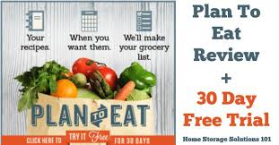 Online Meal Planner Review Plan To Eat