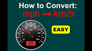 Baseball Mph Conversion Chart How To Convert Mph To Km H Mph To Kph Easy