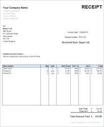 receipt paid template free receipt blog paid word