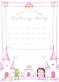 Free Printable Birthday Invitation Templates For Kids Kitchener Record Phone Number Kids Birthday Invitation Template New