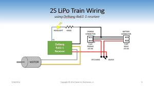 dead rail wiring diagrams the on30 guy tm Lipo Battery Wiring Diagram the basic wiring diagram will work well for installations in most on30 steam locos or larger critters it could also work well in larger ho models 7.4v lipo battery wiring diagram