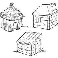 Se antes era as mais comuns em vários projetos, hoje em dia se tornaram coadjuvantes em meio a tantos modelos de alvenaria. Desenho De Casa De Tijolos Dos Tres Porquinhos Para Colorir Tudodesenhos