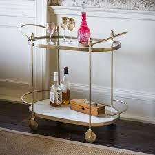 odyssey marble drinks trolley