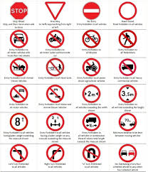 Nc Dmv Road Signs Chart 2019 Types Of Kenya Road Signs And Their Meaning Learn And Be