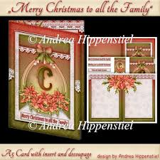 instant card making downloads a5 card with insert red poinsettia 1 20 instant poinsettia