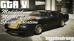 Gta V Modified Muscle Cars Spawn Location Youtube