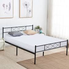 Full Platform Bed Frame with Storage Space,Headboard Footboard,Slats Support,Fluted Design Fix Mattress,Optional for Box Spring Need - Walmart.com