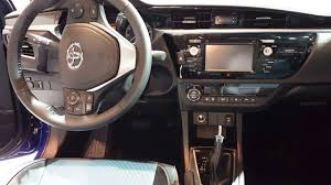 toyota corolla 2016 interior. 2016 toyota corolla s interior walkaround price site cars youtube r