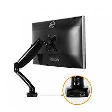 loctek desk monitor mount w usb port d5u
