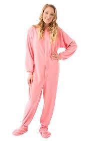 Big Feet Pjs Size Chart Big Feet Pjs Rose Fleece Footed Pajamas For Women