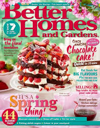 Small Picture Better Homes and Gardens Australia Magazine October 2016