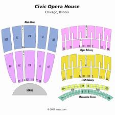 Civic Opera House Chicago Seating Chart Oconnorhomesinc Com Impressive Seating Chart For Detroit