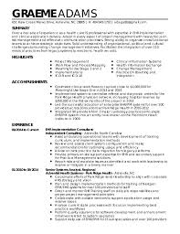 Graeme Adams Resume Implementation Consultant. SUMMARY HIGHLIGHTS  ACCOMPLISHMENTS EXPERIENCE GRAEME ADAMS 451 Haw Creek Mews Drive,  Asheville, ...