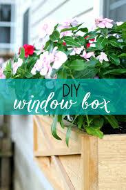 Diy Window Boxes How To Build A Cedar Window Box Planter