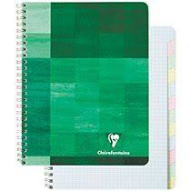 Clairefontaine Wirebound Multiple Subject Graph Paper Notebook 60