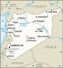 Middle East Syria The World Factbook Central