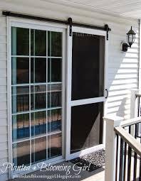 sliding screen doors diy screen door