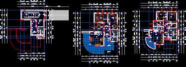 house plan dwg