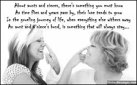 Quotes About Being An Aunt Beauteous Birthday Poems For Niece WishesMessages