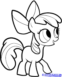 how to draw a my little pony rainbow dash easy drawing guides