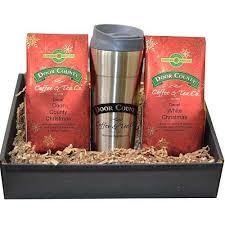 holiday decaf coffee 8 oz twin gift with travel mug