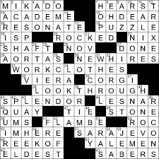 Fingerprint Pattern Crossword