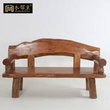 solid wood sofa wood furniture Chinese antique wood living room