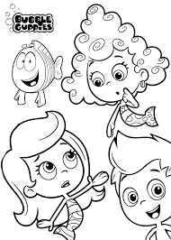Printable 19 Bubble Guppies Coloring Pages 7107 - Bubble Guppies ...