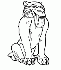 Small Picture ice age coloring pages for kids Ice Age Coloring Pages For Kids