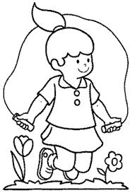Coloriages De Maternelle Coloriage Enfant Qui Dessine L